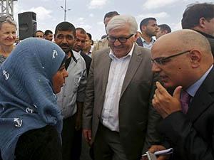 Steinmeier: Gazze'ye Yönelik Abluka Kalkmalı