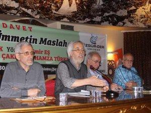 """""""Genel Seçimler ve Ümmetin Maslahatı"""" Paneli Yapıldı"""