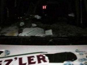 HDP Minibüsüne Saldırıda 1 Kişi Hayatını Kaybetti