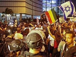 İsrail'de Irkçılık Karşıtı Protesto