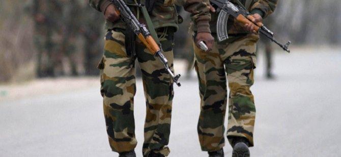 Hindistan'da Askeri Konvoya Saldırı