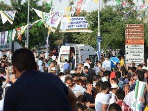 HDP Mitinginde Patlama: 2 Ölü