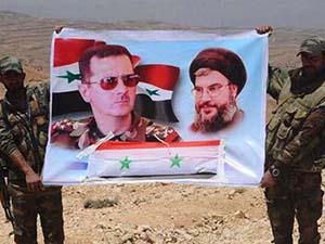 Hizbullah Milisleri Böyle Poz Verdi