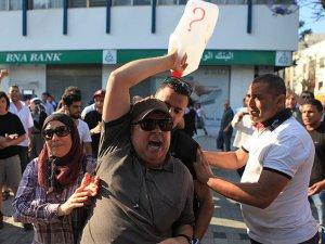 Tunus'ta Gösteriye Müdahale