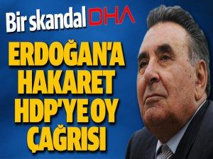 DHA'dan Erdoğan'a Hakaret HDP'ye Oy İsteği