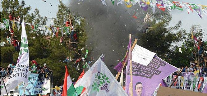 HDP Mitingindeki Patlamayla İlgili Tutuklama