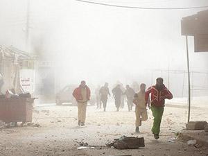 Esed Güçleri Zabadani'ye 24 Saatte 16 Varil Bombası Attı