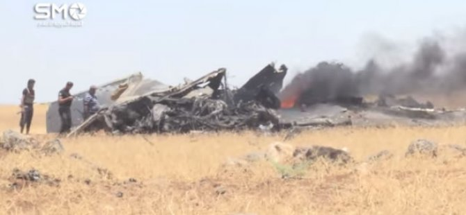 Direnişçiler Dera'da Rejimin Savaş Uçağını Düşürdü