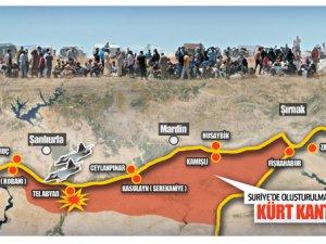 ABD Bombalıyor, PKK/PYD Yerleşiyor