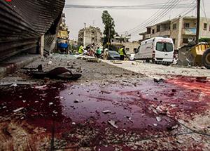 Maarat al-Numan'da Varil Katliamı (FOTO-VİDEO)