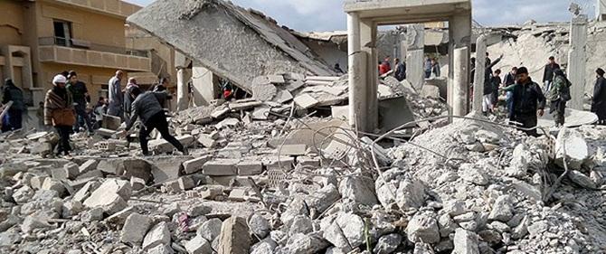 Rakka'da Siviller Vuruldu: 20 Ölü, Çok Sayıda Yaralı