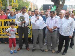Aytaç Baran Suikastı Antalya'da Kınandı