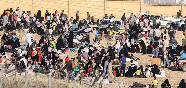 Bombardımandan Kaçan Suriyeliler Akçakale'de