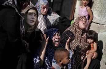 """İsrail, Sivilleri """"Hukuka Uygun""""(!) Katlediyor"""