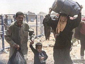 Bir Grup Suriyeli Daha Türkiye'ye Girdi (FOTO)
