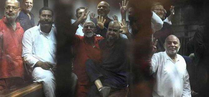 İhvan Liderleri İdam Kararlarını Tekbirlerle Karşıladılar (FOTO)