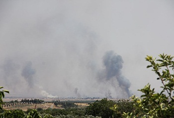 IŞİD, Azez'de ÖSO ile Çatışıyor