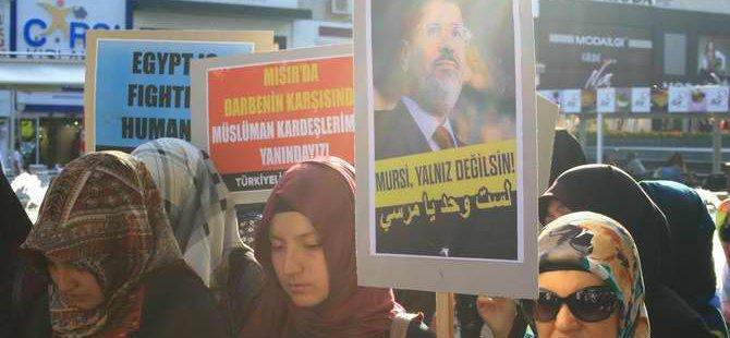 Sisi Cuntasının İdam Kararlarına Antalya'da Protesto