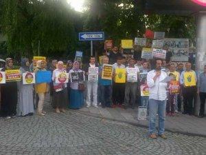 Sapanca Mısır'daki İdamlara Sessiz Kalmadı