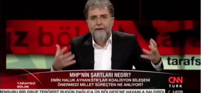 Ha Gayret Ahmet Hakan MHP İkna Olacak!