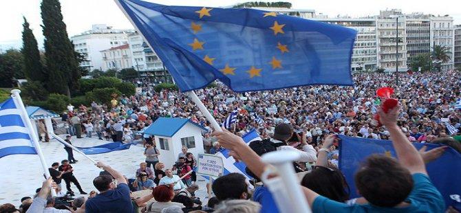 Yunanistan'da 'Hayır'lar Açık Ara Önde