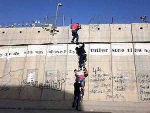 Mescid-i Aksa Yolunda 'Ayrım Duvarı' Çilesi (FOTO)
