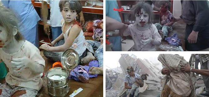 7'si Çocuk 56 Kişi Rejim Tarafından Katledildi