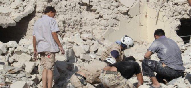 Rejimden Halep ve Dareyya'da Varil Bombalı Saldırı