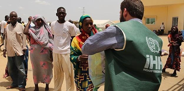 İHH'dan Çad'daki Mültecilere Yardım