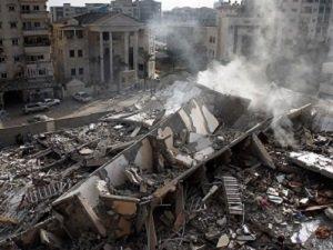 Siyonistler Katliam Yapar, Gazze Suçlu Bulunur