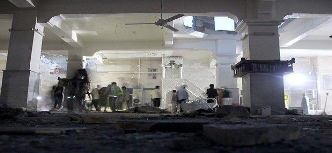 Esed Akşam Namazında Camiyi Bombaladı: 15 Şehit