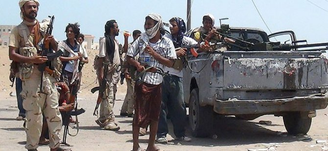 Yemen'de Husilerle Çatışma