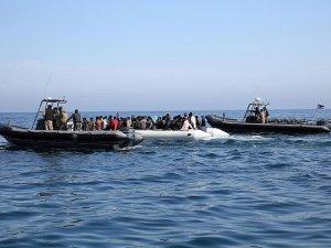 Libya Açıklarında 2 Bin 518 Göçmen Kurtarıldı