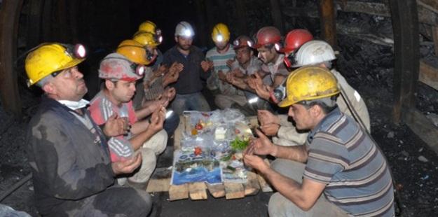 Kömür İşçilerinin Yeraltındaki Ramazan'ı