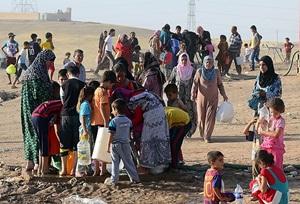 Anbar'da Sünni Halk Tehcir Ediliyor