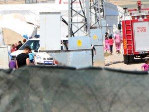 Kahramanmaraş'ta Çadır Kentte Yangın: 2 Ölü