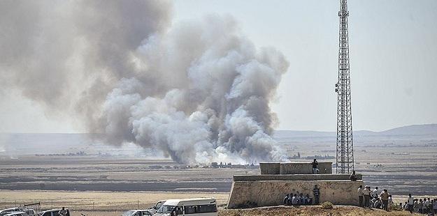 IŞİD Kobani'yi İçeriden Vurdu