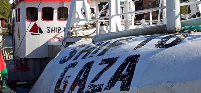 Gazze'ye 3. Özgürlük Filosuna Yunanistan'da Sabotaj