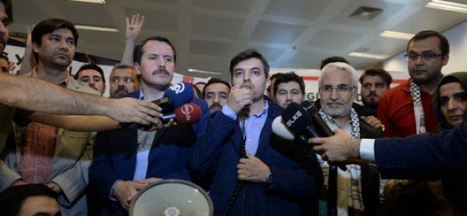 Siyonistlerin Gözaltına Aldığı Gazeteciler İstanbul'a Geldi