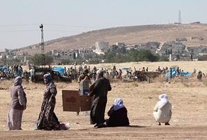 Kobani'den Silah Sesleri Duyuluyor