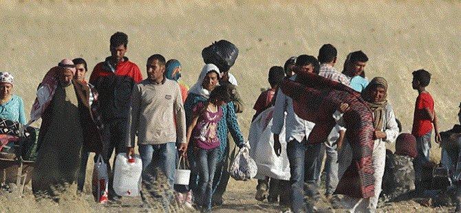 Haseke'de 60 Bin Kişi Yerinden Oldu