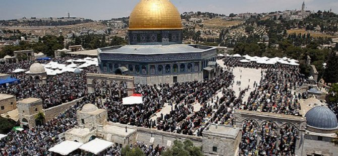 Filistinlilerden Netenyahu'nun Ezan Terbiyesizliğine Tepki