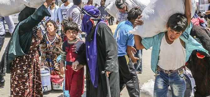 'Tel Abyad'da Tehcir Politikası Uygulanıyor'