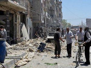 Şam'da Hava Saldırısı: 10 Ölü, 60 Yaralı