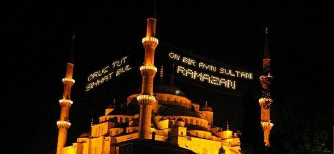 'Varol İnönü'den 'On Bir Ayın Sultanı'na Ramazan Mahyaları