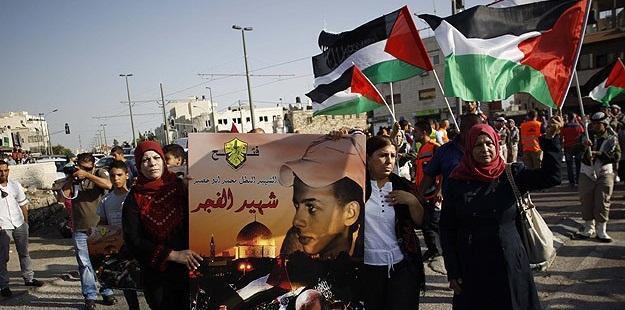 Yakılarak Katledilen Ebu Hudayr Kudüs'te Anıldı
