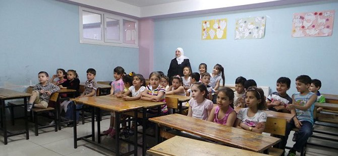 Suriyeli Mültecilerin Okulu Yardım Bekliyor
