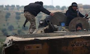 Bomba Dolu BMP İle Şii Militanlara Saldırı Anı