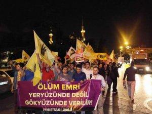 Üniversiteli Müslümanlardan İftar ve Sisi Cuntasına Protesto