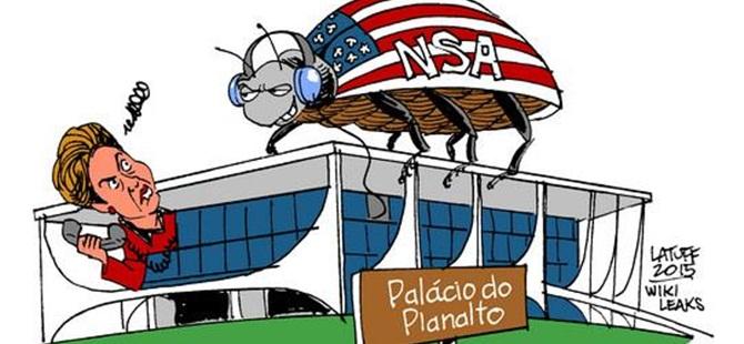 ABD İstihbaratı Brezilya Hükûmetini de Dinlemiş